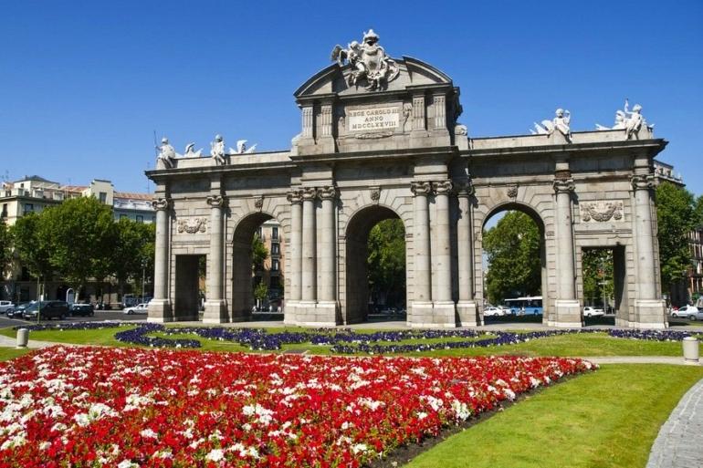Alcala Gate Madrid