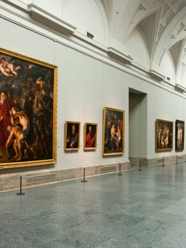 Central Gallery at Prado Museum