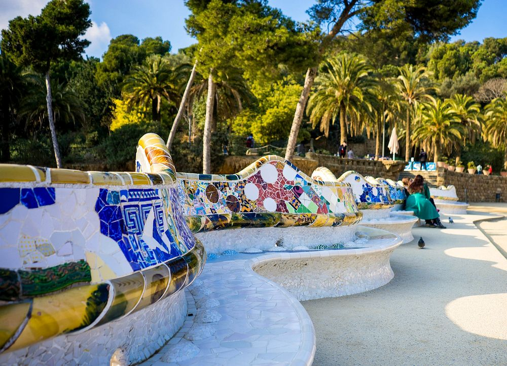 Park by Gaudi