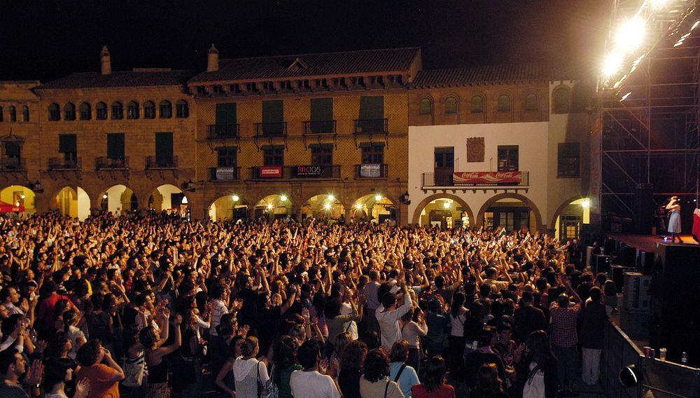 Summer concert at Poble Espanyol