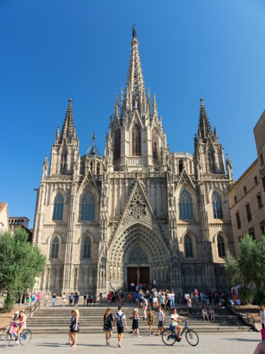 The Cathedral of the Holy Cross and Saint Eulalia