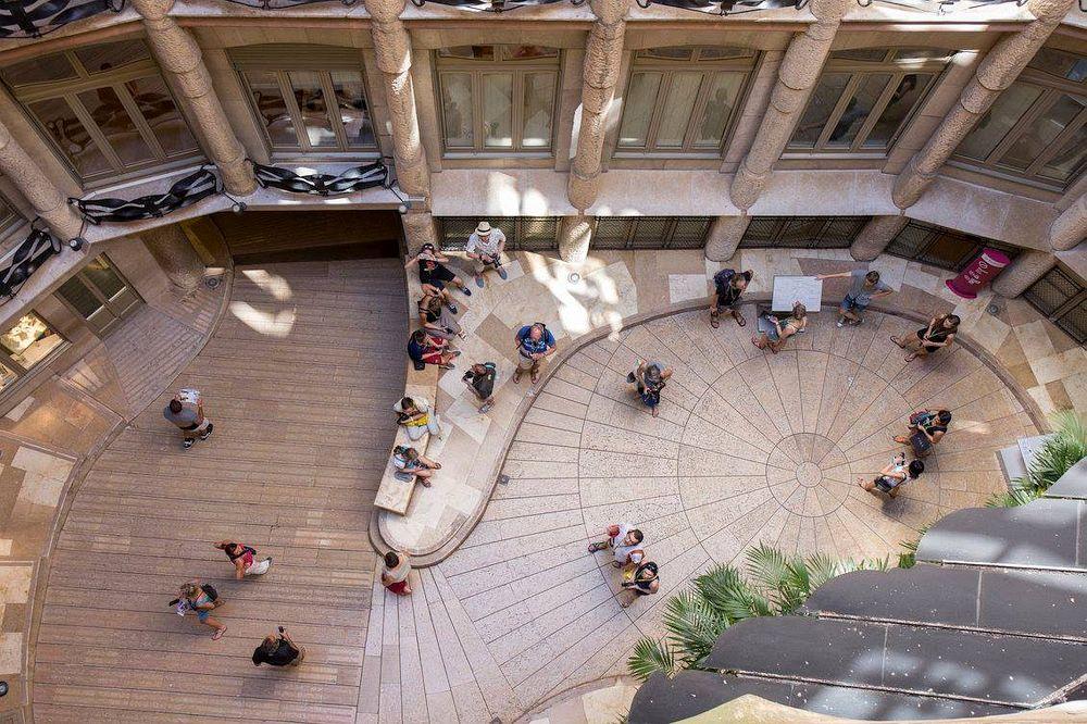 La Pedrera Courtyard