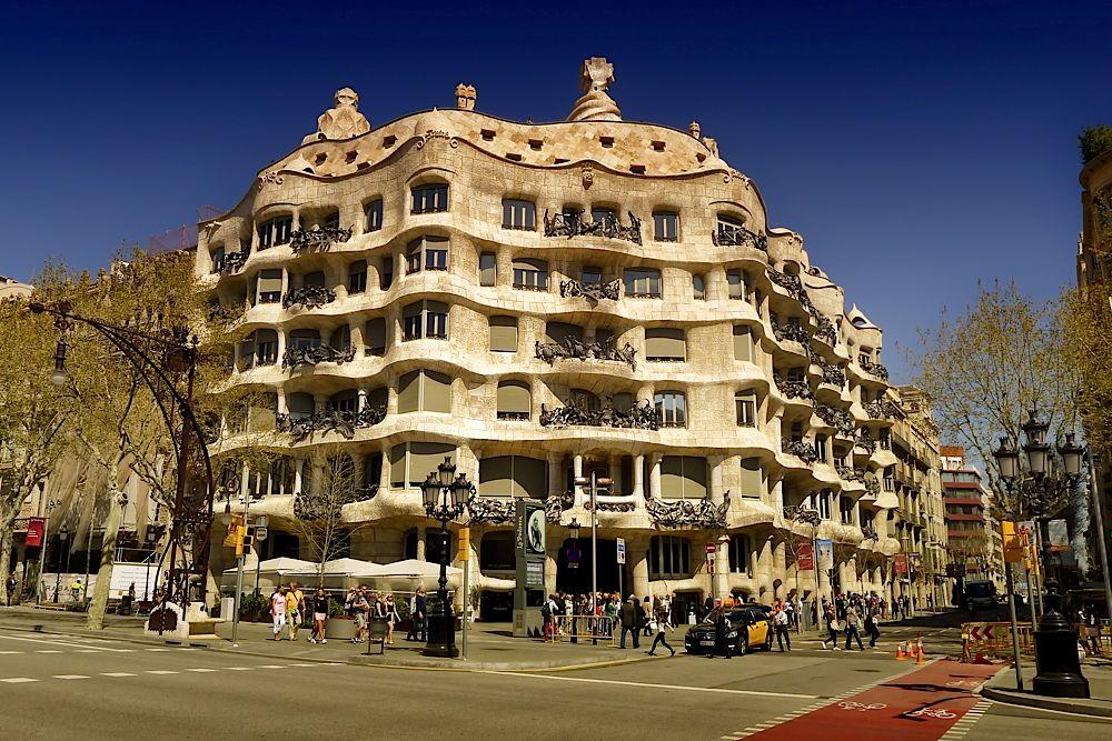 Casa Milà by Gaudi