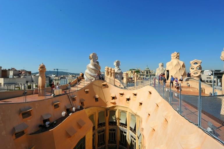 La Pedrera Roof