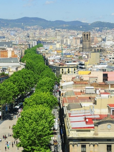 Rambla Boulevard Barcelona
