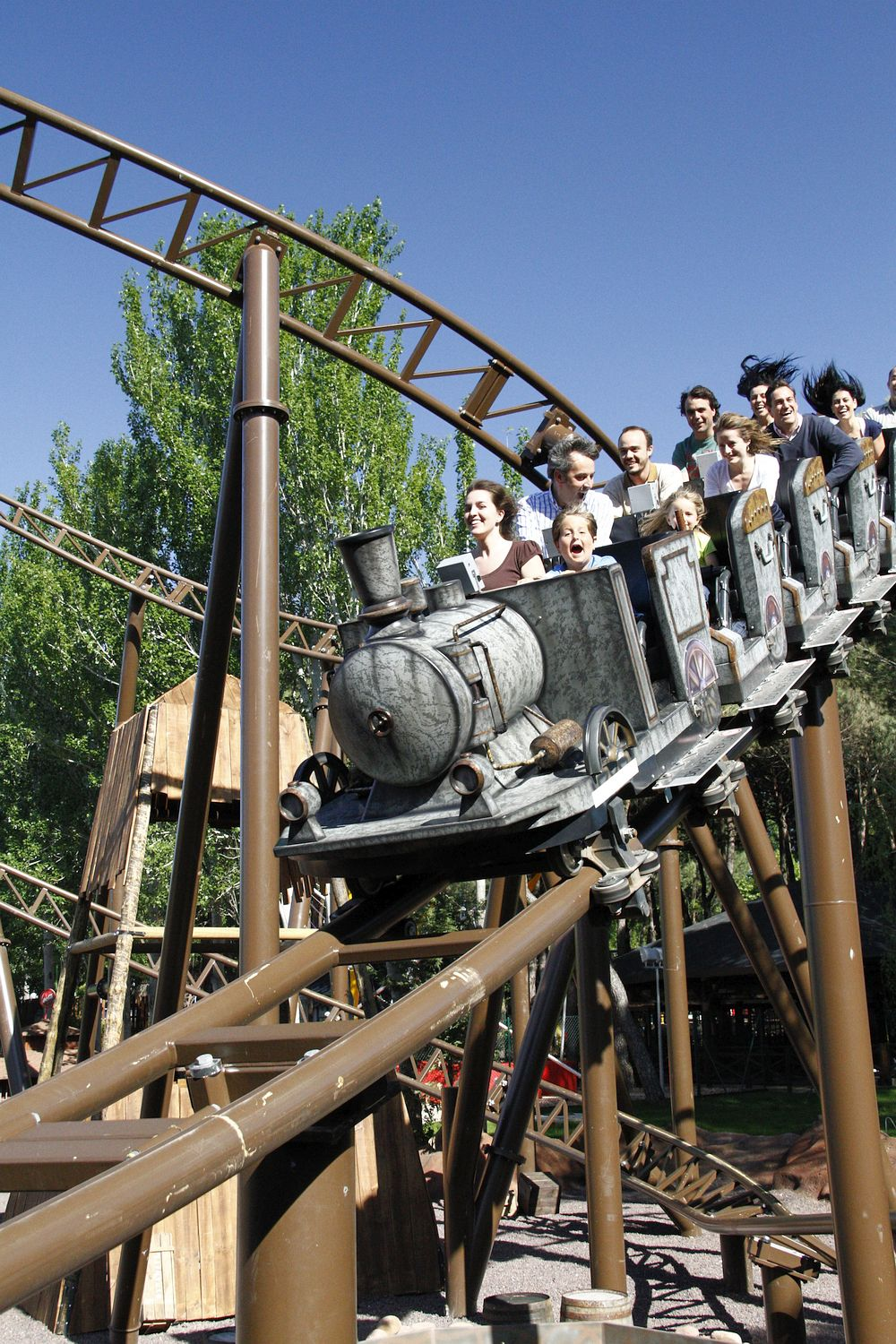 Rollercoaster in Madrid