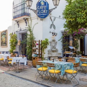 Cafe in Marbella Old Town