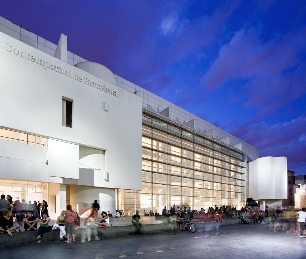 Modern minimalist home interior design - Barcelona Museum Of Contemporary Art