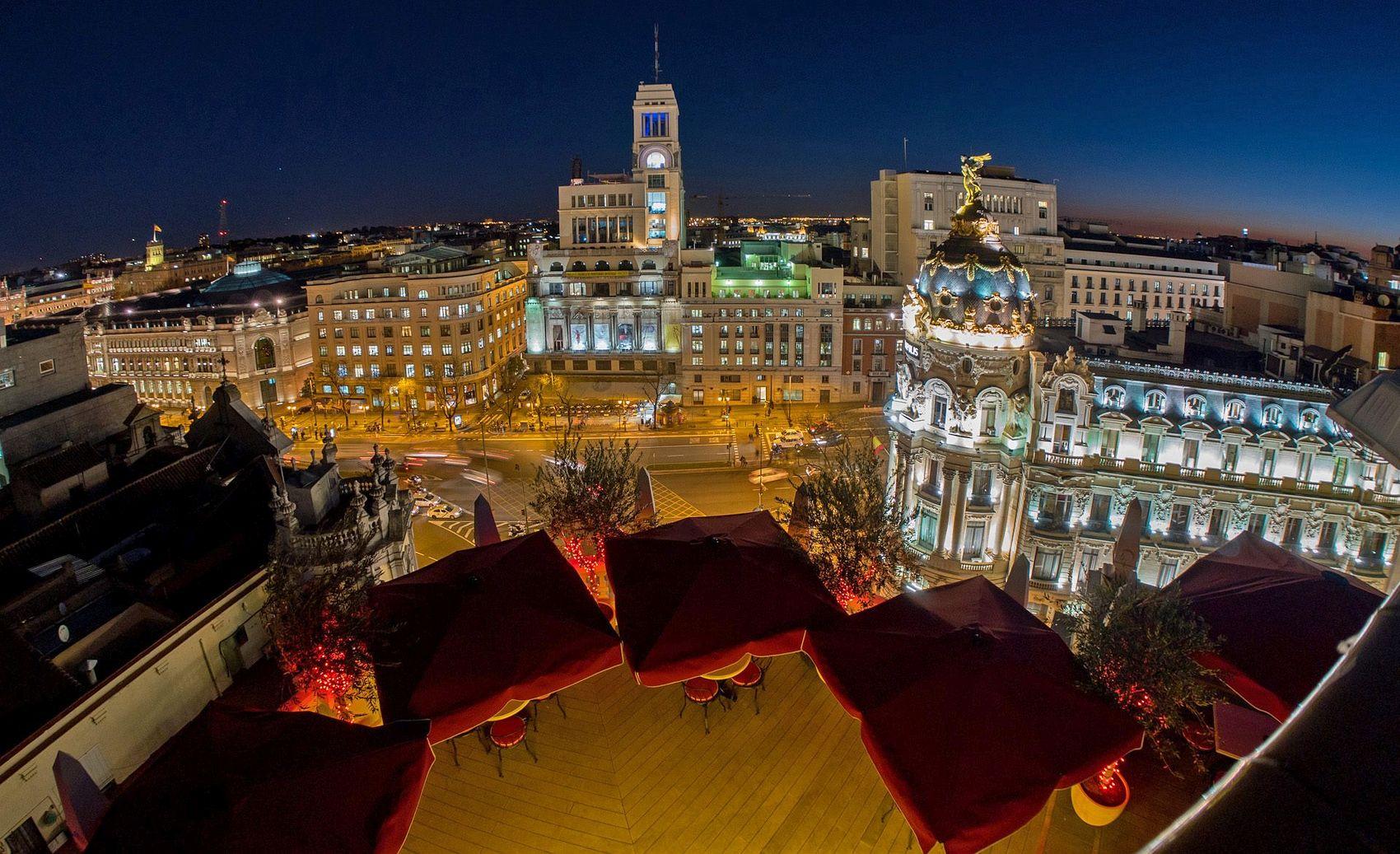 Best Hotel In Madrid Gran Via