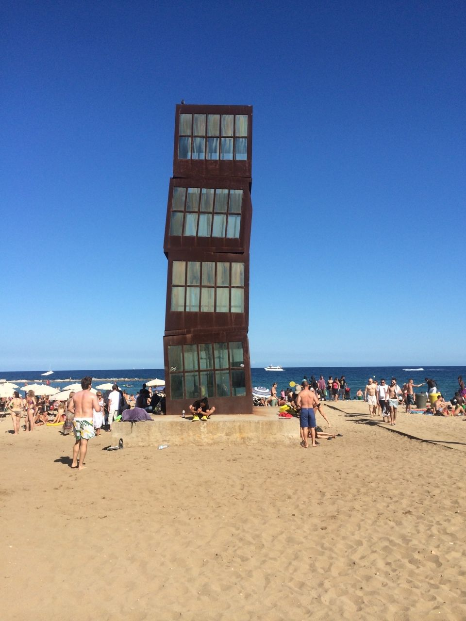 Homenatge a la Barceloneta