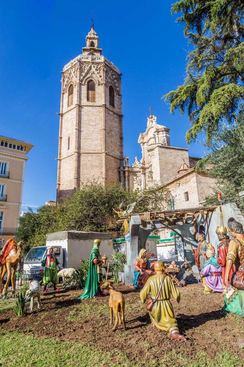 Nativity Scene in Spain