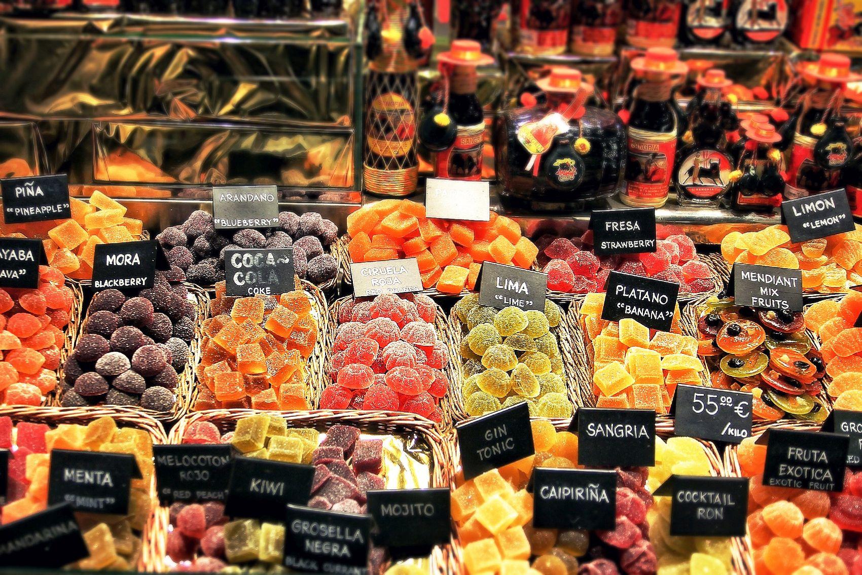 Barcelona Old Food Market