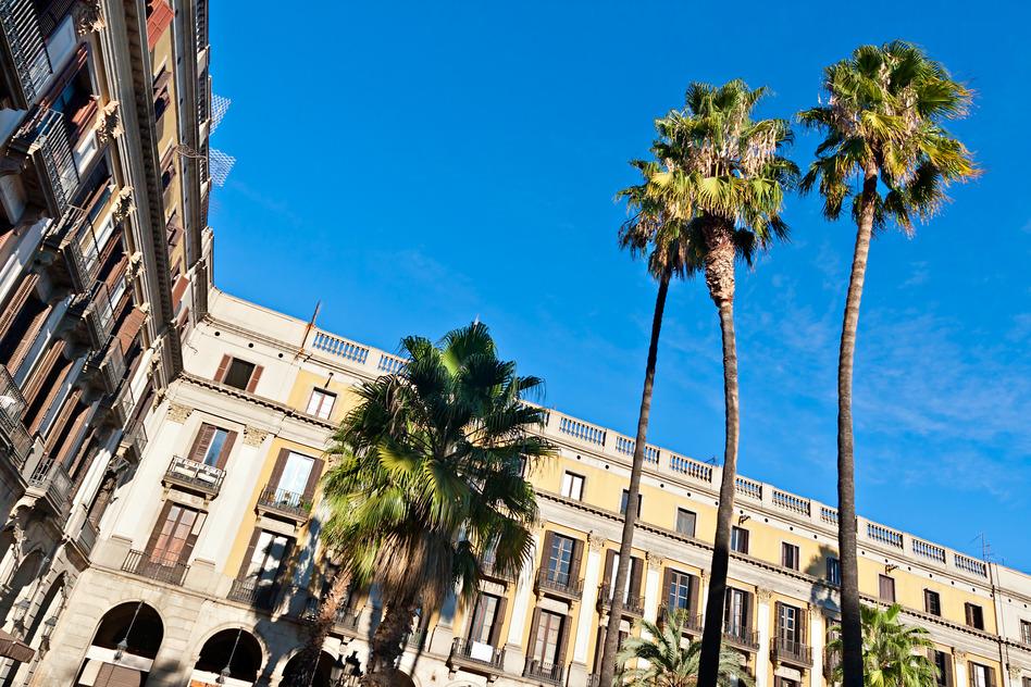 Placa Reial, Barcelona