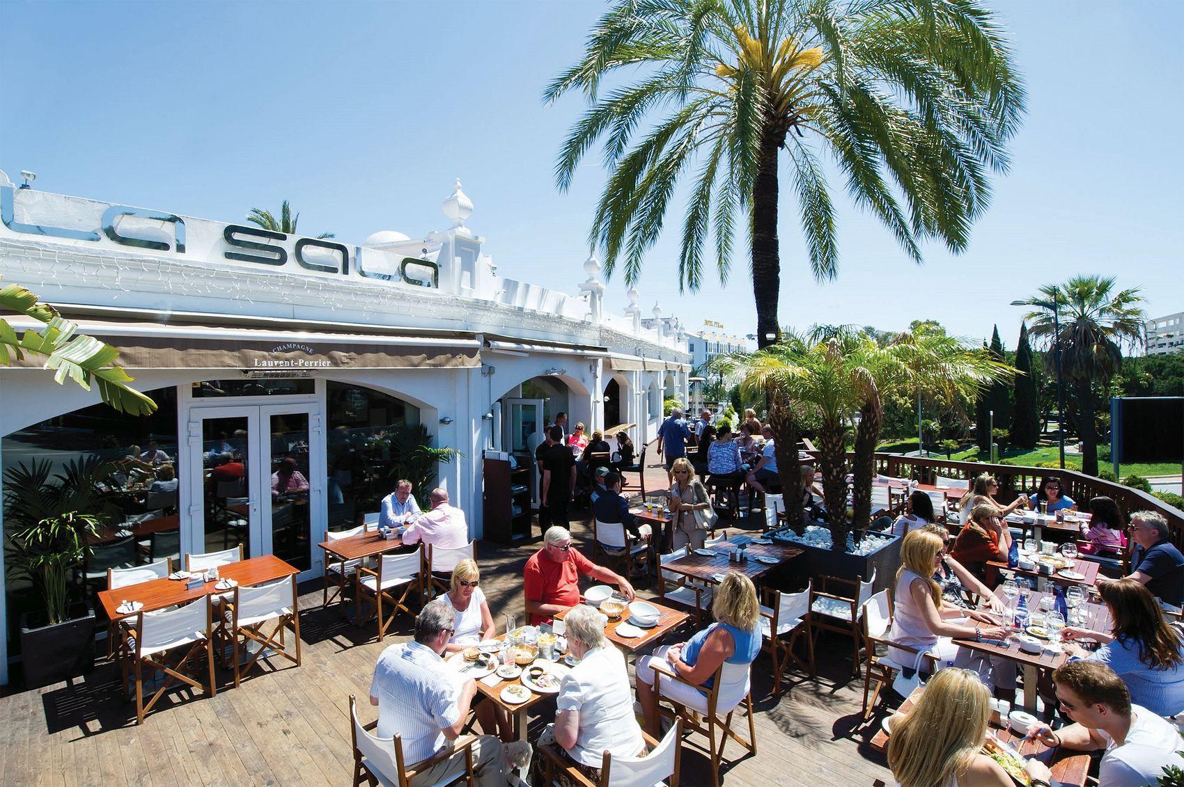 la sala bar and restaurant puerto banus