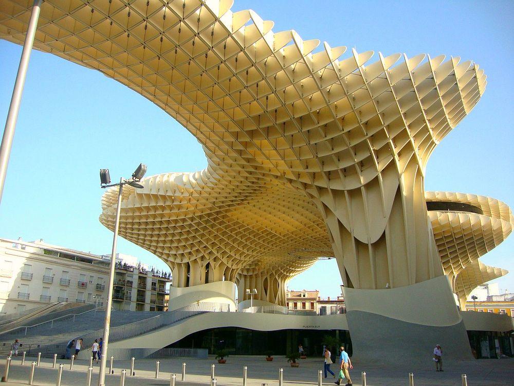 Artwork in Seville