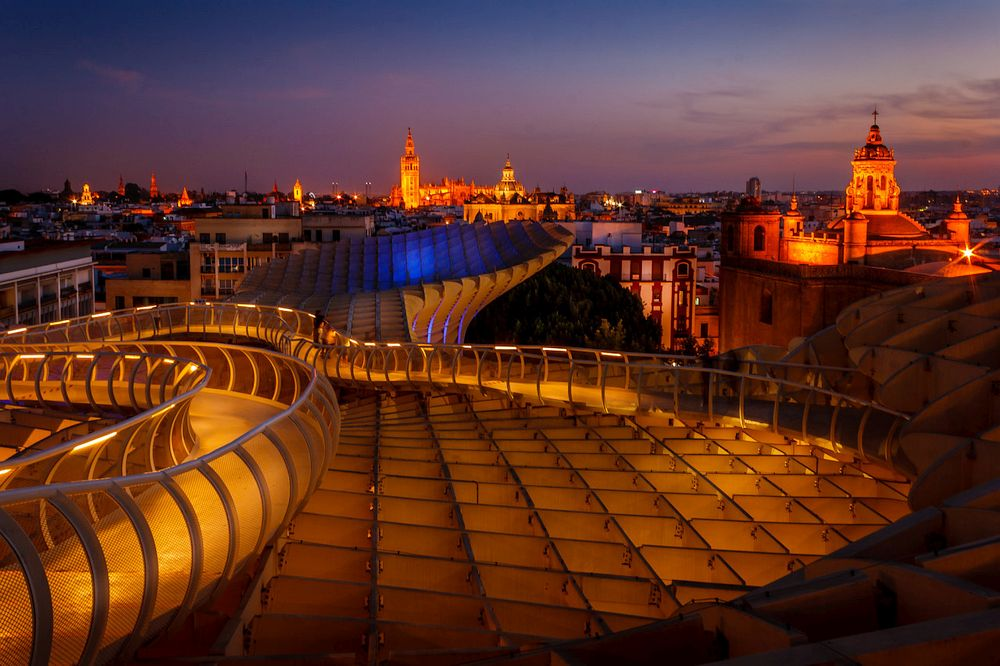 Seville Nightscape