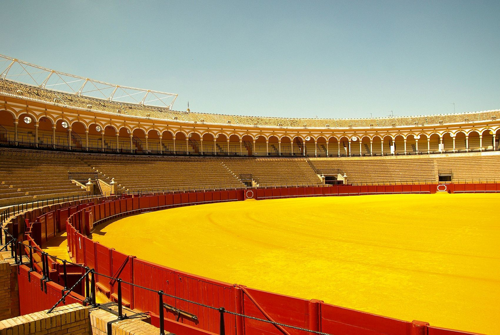 Bullring in Seville