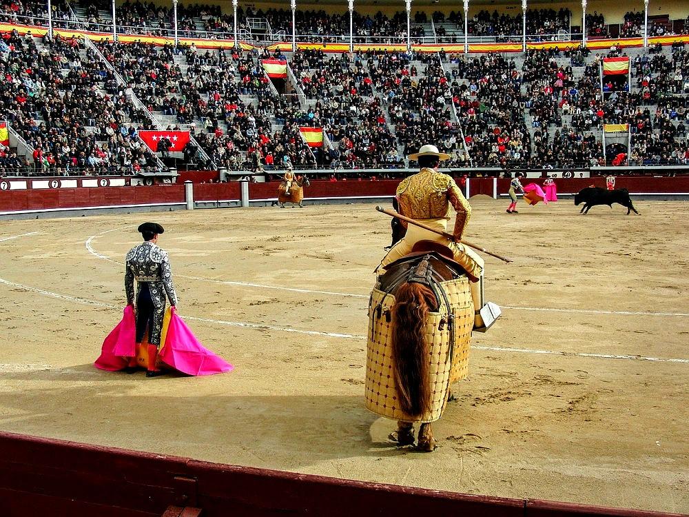 Spain bullring