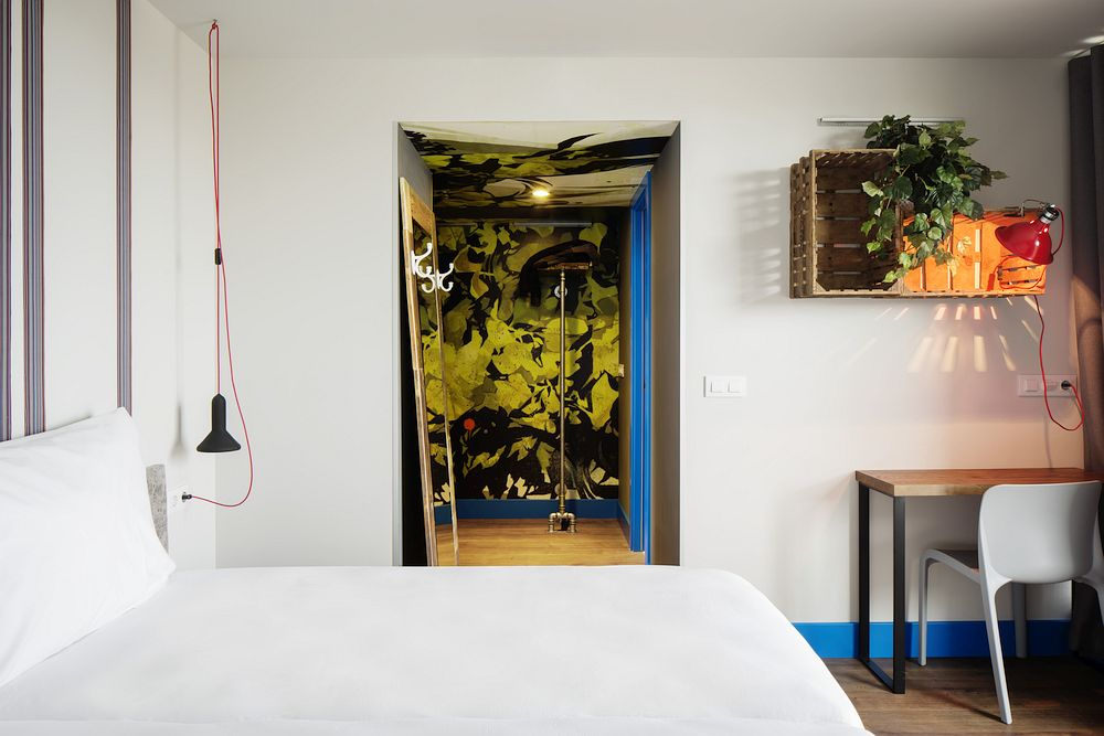Chic hostel in Barcelona