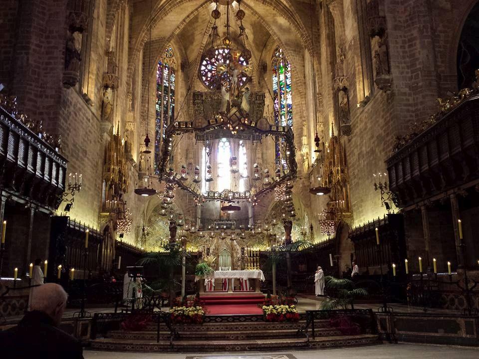 Inside Catedral de Mallorca