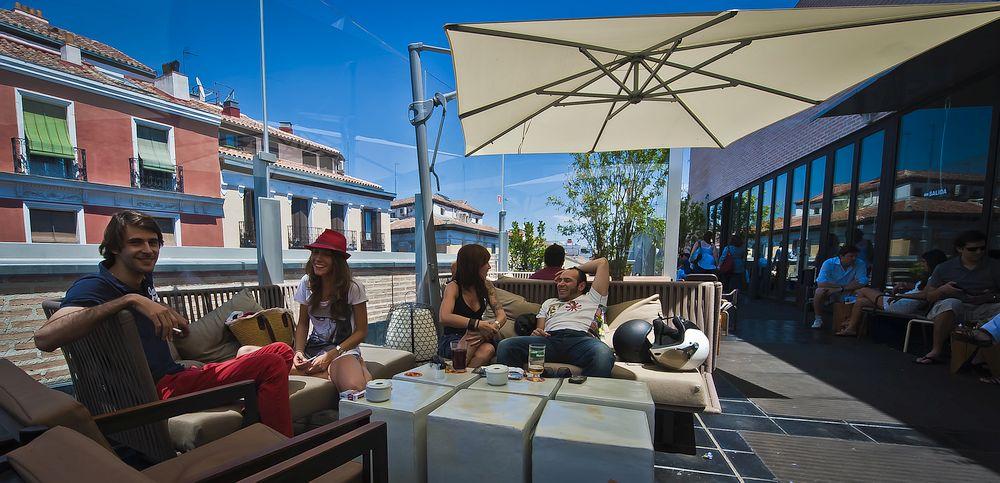 Roof Terrace in Madrid