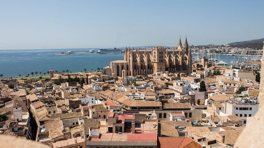 Rooftops in Palma de Mallorca