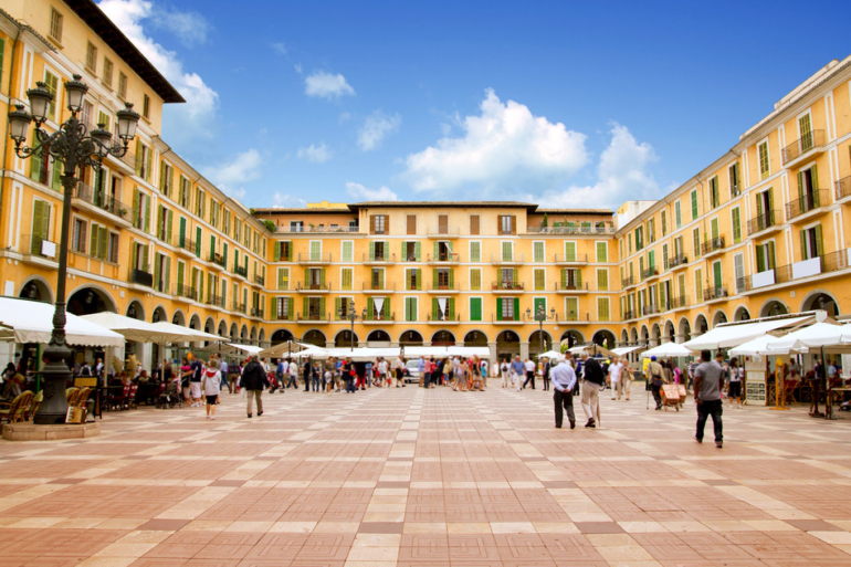Palma de Mallorca Plaza mayor