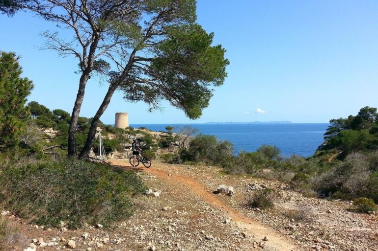 The Road to Cala Pi