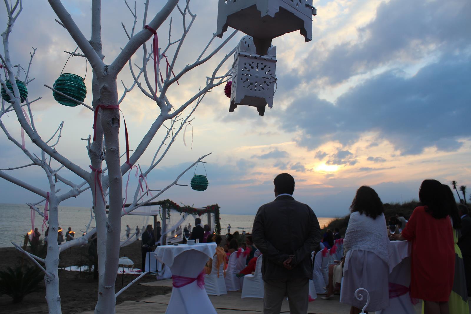 Beach wedding in Marbella