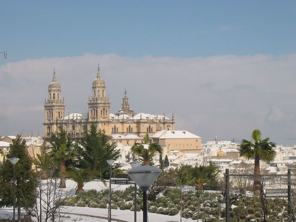 Snow in Jaen