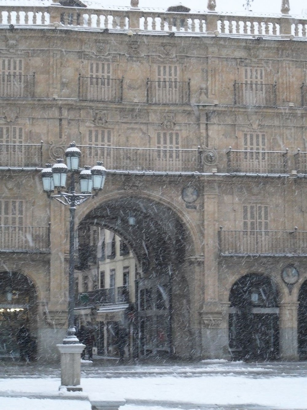 Winter in Salamanca