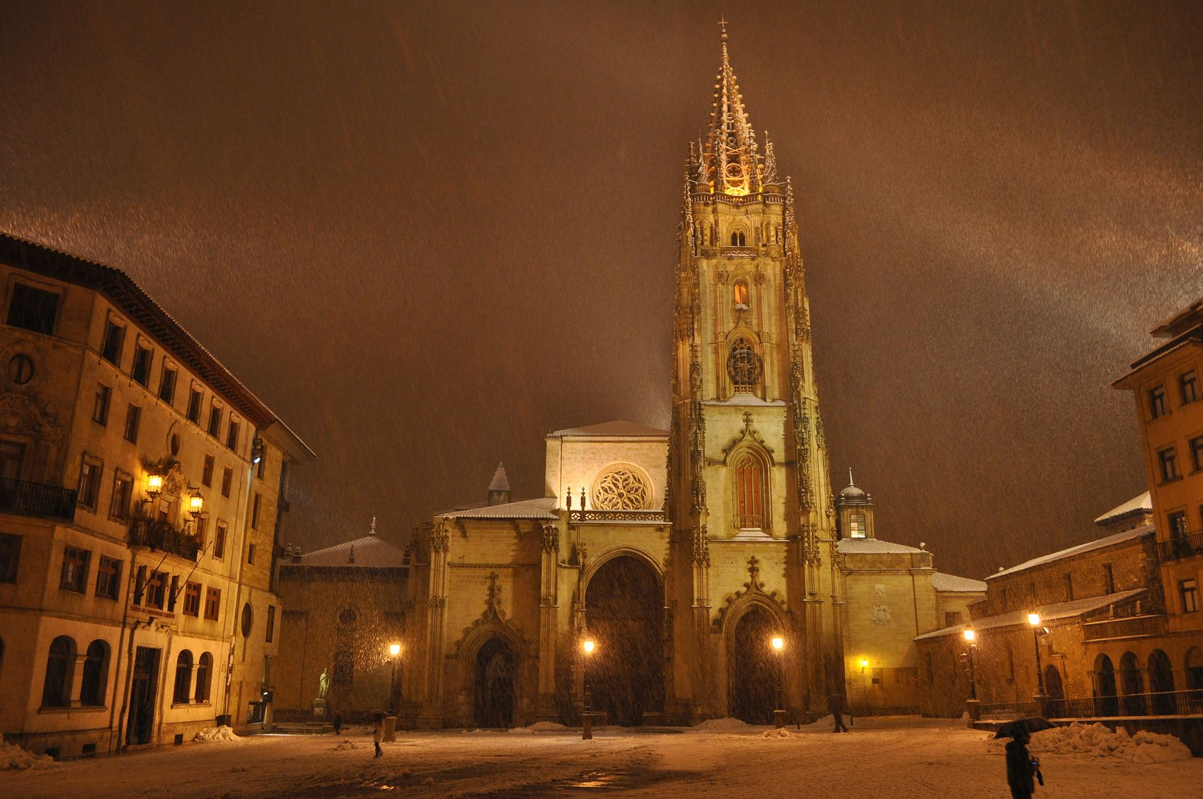 Winter in Oviedo