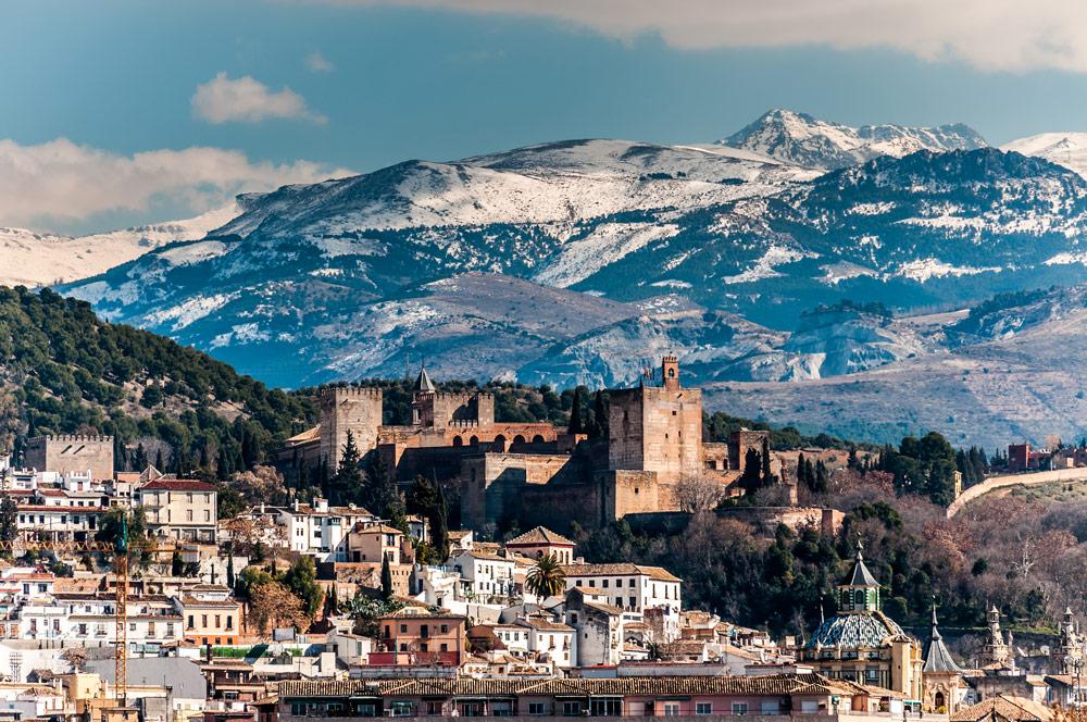 Granada and Sierra Nevada