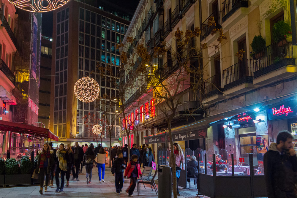 Madrid in December