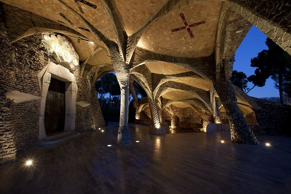 Colonia Güell by Gaudi