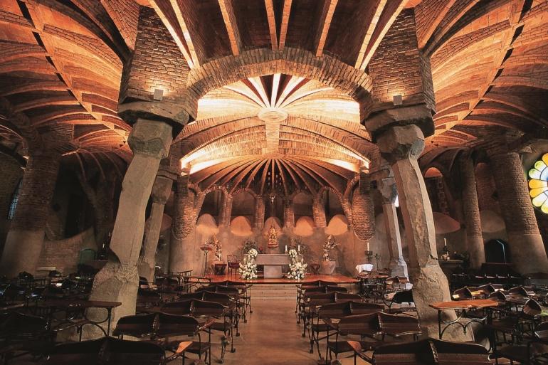 Gaudi's Crypt