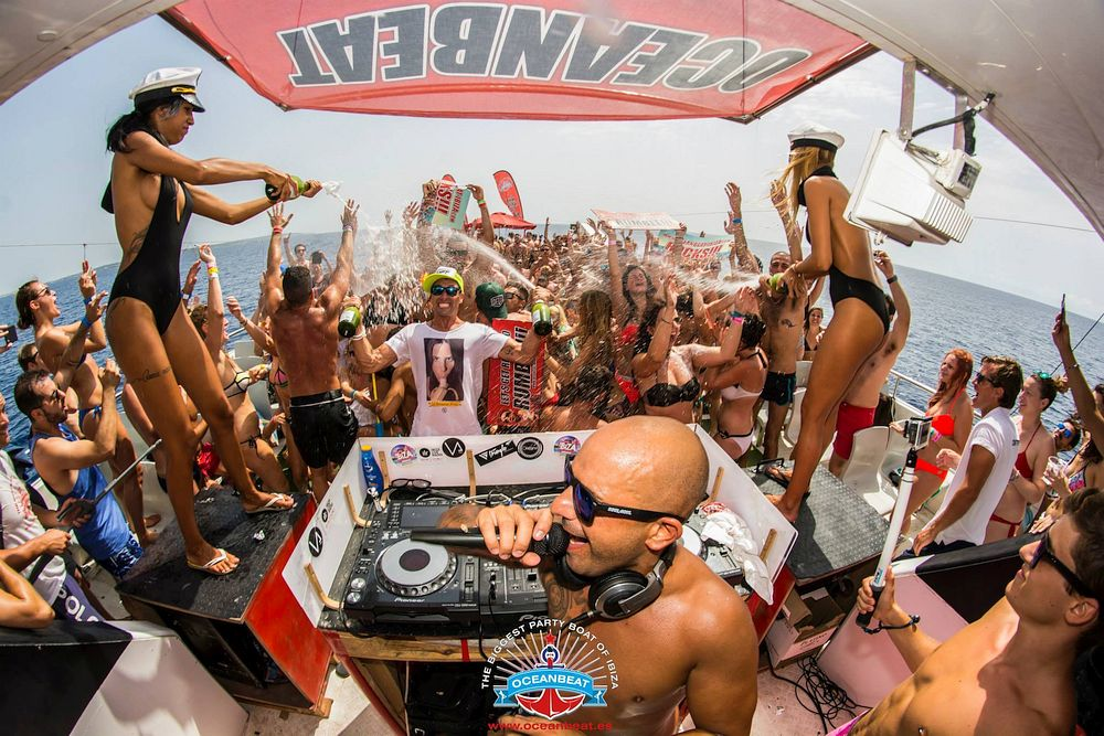 Boat Party in Ibiza