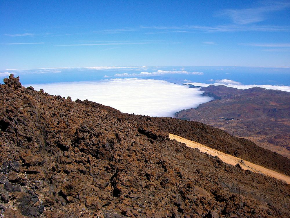 Above the clouds in Tenerife