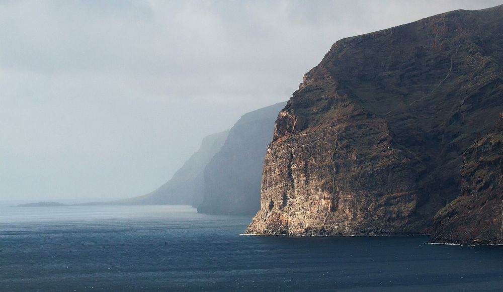 Tenerife's dramatic coast