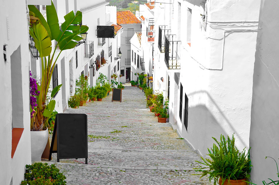 White town in Andalusia