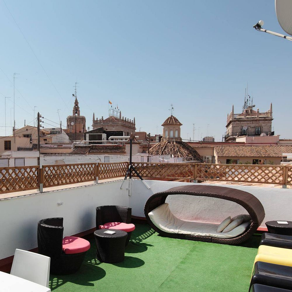 Roof terrace in Valencia