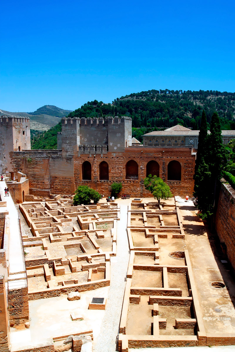 The Alcazaba fortress