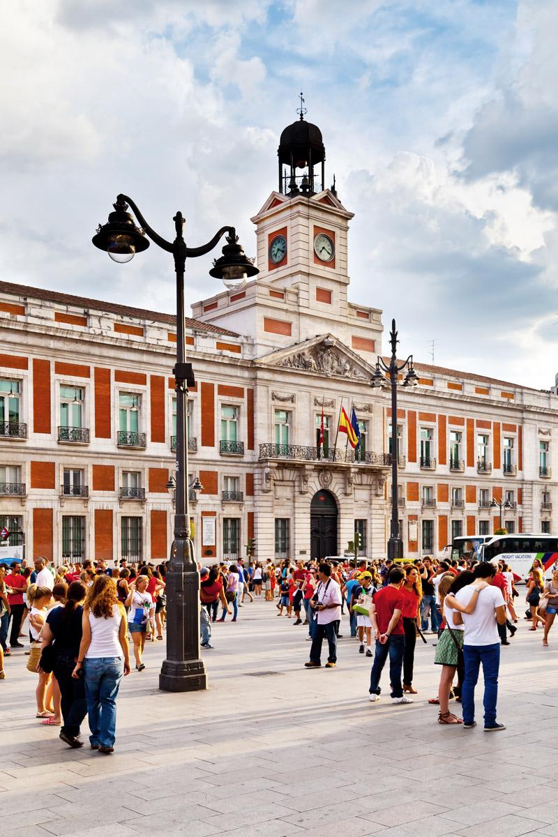 Casa de Correos in Puerta del Sol