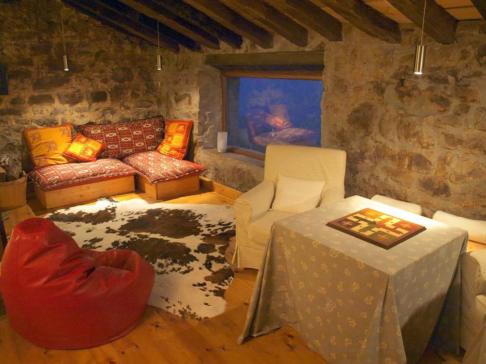 Romantic stone cottage