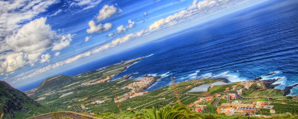 North-west coast, Tenerife