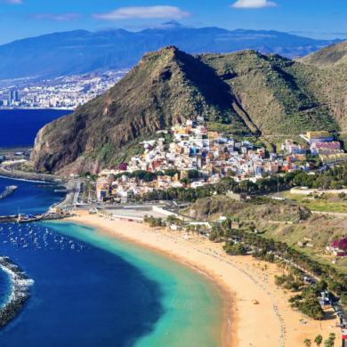 Best surfing spot in Tenerife