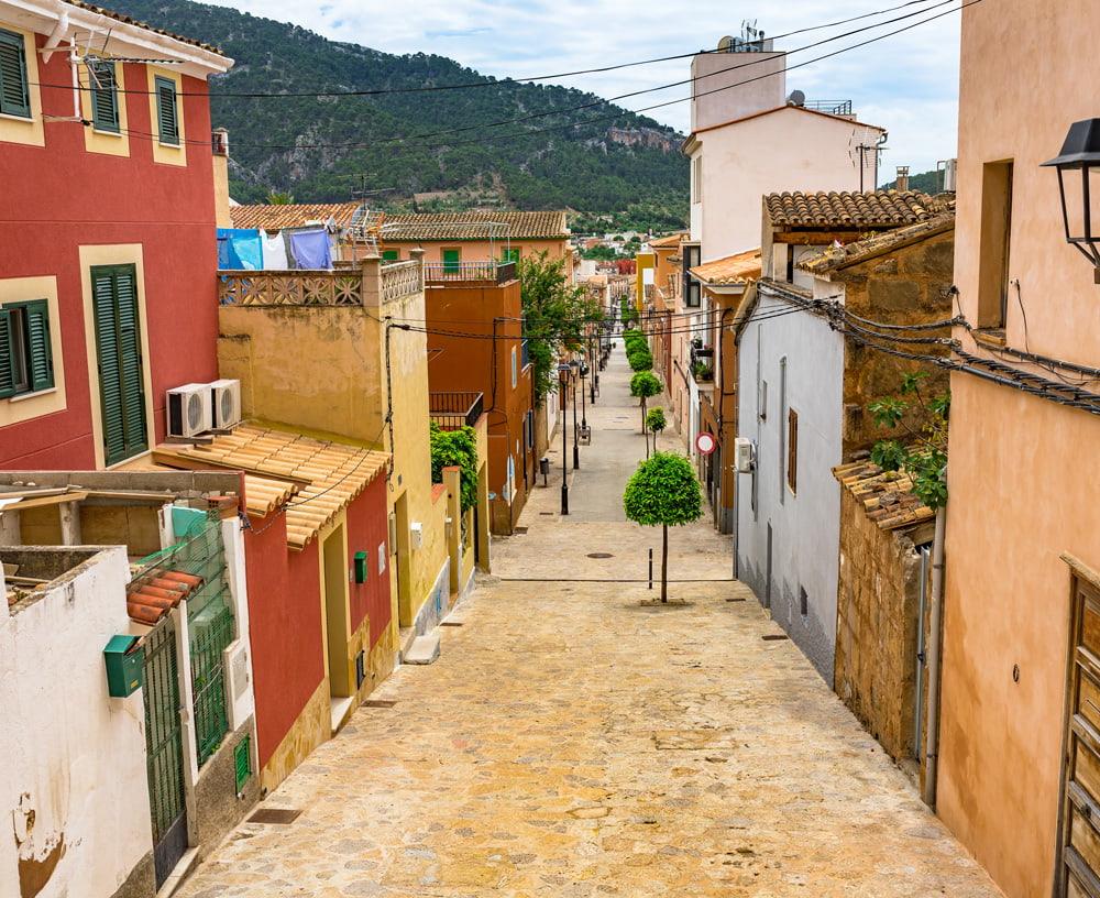 Andratx Town, Mallorca