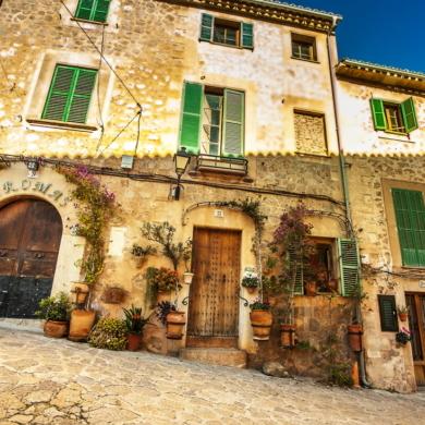 Beautiful town in Mallorca