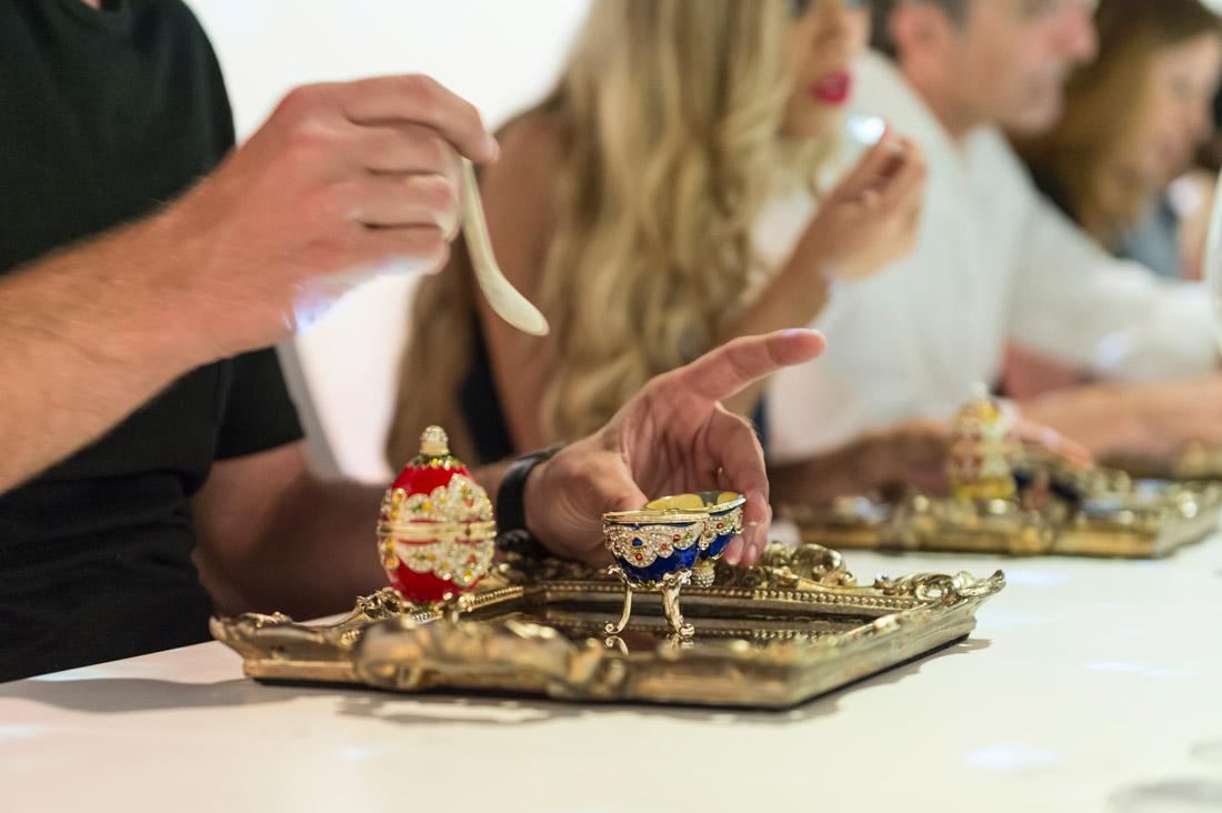 Gastronomic show in Ibiza