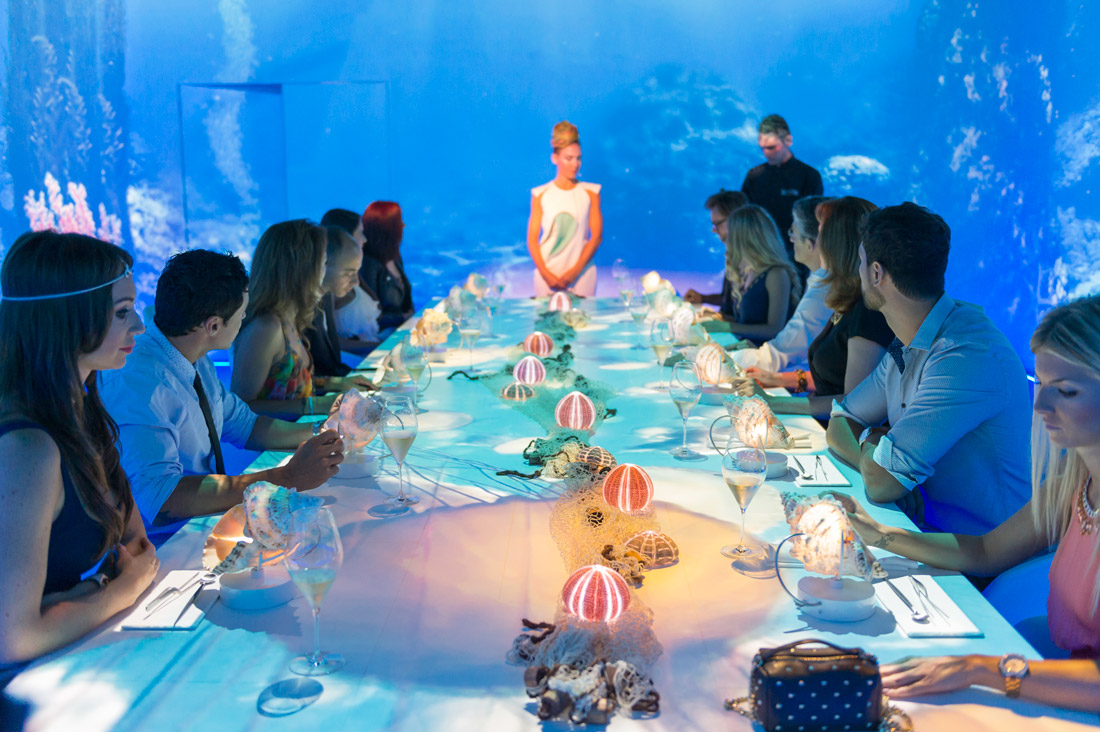 Dining at Sublimotion in Ibiza Is a Mind-Blowing Multisensory Experience